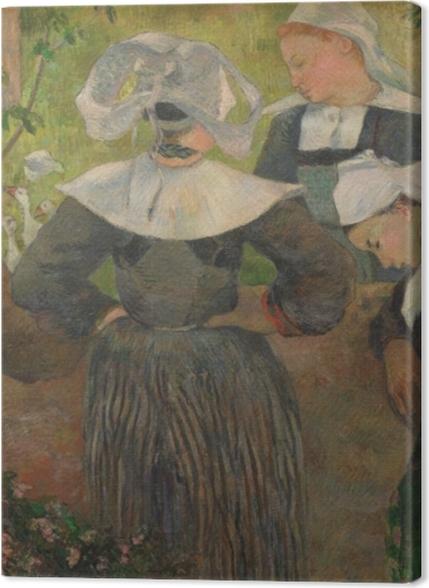 Tableaux premium Paul Gauguin - La danse des quatre bretonnes - Reproductions