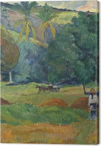 Tableaux premium Paul Gauguin - La vallée - Reproductions