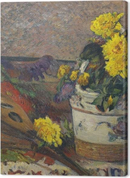 Tableaux premium Paul Gauguin - Nature morte à la mandoline - Reproductions