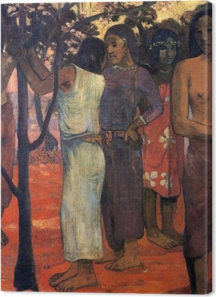 Tableaux premium Paul Gauguin - Nave Nave Mahana (Jour délicieux) - Reproductions