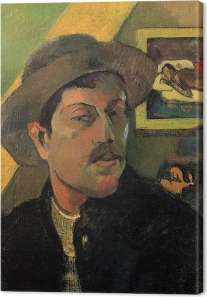 Tableaux premium Paul Gauguin - Portrait de l'artiste - Reproductions
