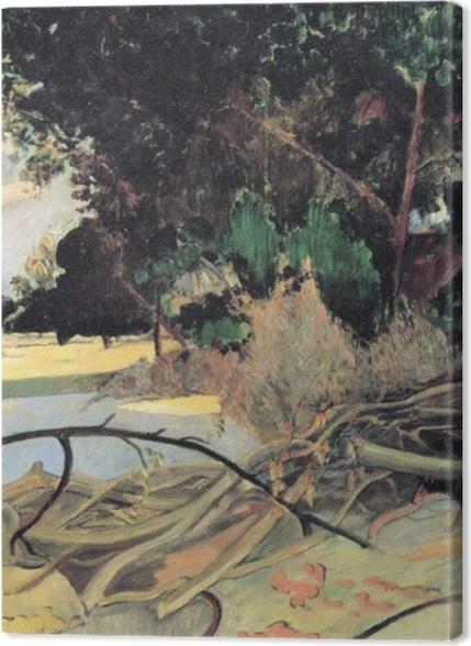 Tableaux premium Paul Gauguin - Te Burao (L'arbre Hibiscus) - Reproductions