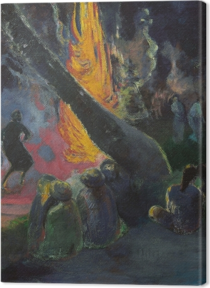 Tableaux premium Paul Gauguin - Upa Upa (La danse du feu) - Reproductions