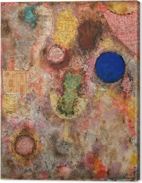Tableaux premium Paul Klee - Jardin magique - Reproductions