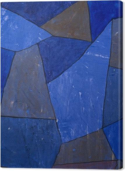 Tableaux premium Paul Klee - Rocks at Night - Reproductions
