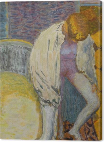 Tableaux premium Pierre Bonnard - Femme sortant du bain - Reproductions
