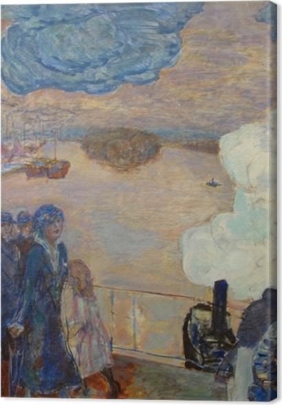Tableaux premium Pierre Bonnard - Ouvriers - Reproductions