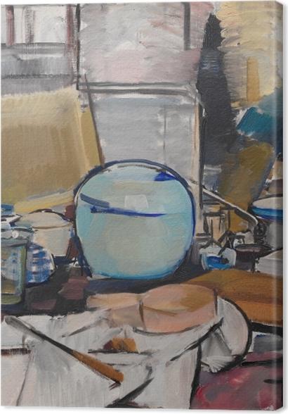 Tableaux premium Piet Mondrian - La nature morte au pot de gingembre - Reproductions