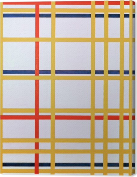 Tableaux premium Piet Mondrian - New York City I - Reproductions