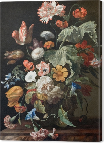 Tableaux premium Rachel Ruysch - Still-Life with Flowers - Reproductions