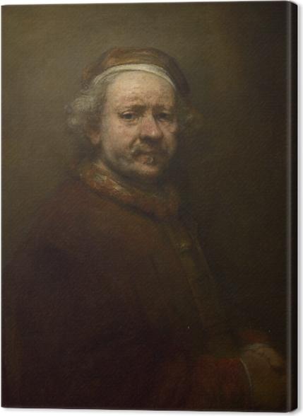 Tableaux premium Rembrandt - Autoportrait à l'âge de 63 ans - Reproductions
