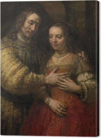 Tableaux premium Rembrandt - La Fiancée juive - Reproductions