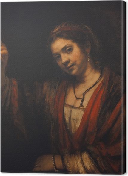 Tableaux premium Rembrandt - Portrait d'Hendrickje Stoffels - Reproductions