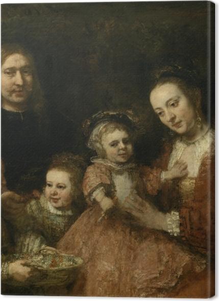 Tableaux premium Rembrandt - Portrait de famille - Reproductions