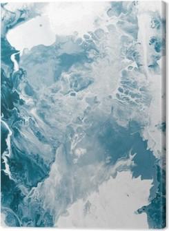 Tableaux premium Texture de marbre bleu