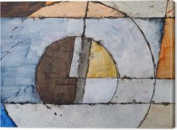 Tableaux premium Une peinture abstraite