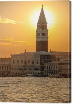 Tableaux premium Venise coucher du soleil 7672