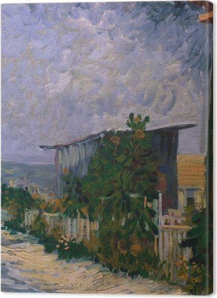 Tableaux premium Vincent van Gogh - Abri de Montmartre - Reproductions