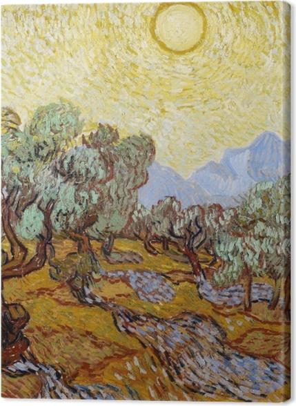 Tableaux premium Vincent van Gogh - Champ d'oliviers - Reproductions