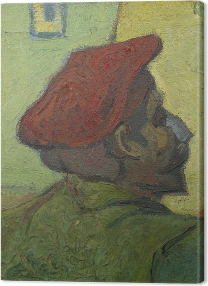Tableaux premium Vincent van Gogh - Homme au béret rouge - Reproductions
