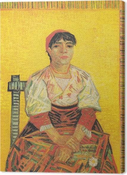 Tableaux premium Vincent van Gogh - I'Italienne - Reproductions