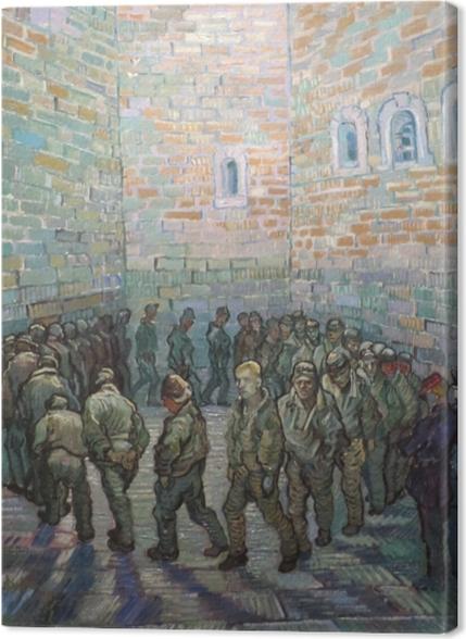 Tableaux premium Vincent van Gogh - L'exercice des prisonniers - Reproductions