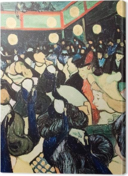 Tableaux premium Vincent van Gogh - La Salle de danse à Arles - Reproductions