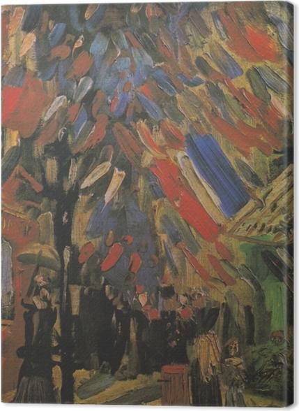 Tableaux premium Vincent van Gogh - Le 14 Juillet - Reproductions