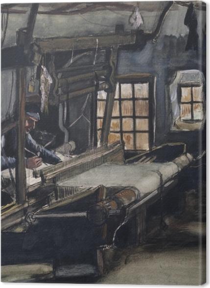 Tableaux premium Vincent van Gogh - Le Tisserand - Reproductions