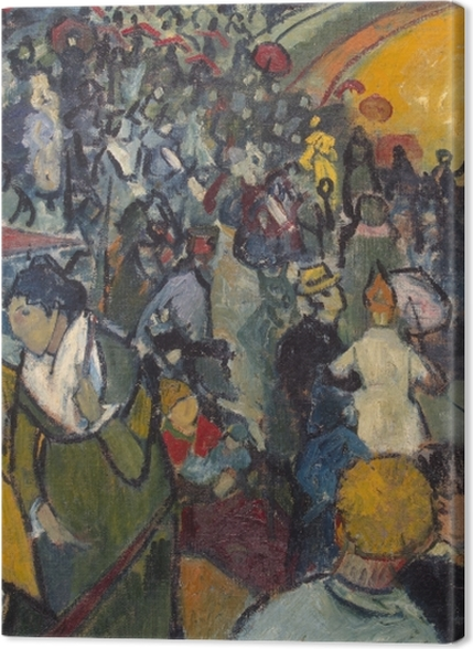 Tableaux premium Vincent van Gogh - Les Arènes d'Arles - Reproductions