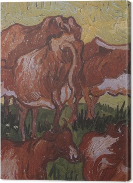 Tableaux premium Vincent van Gogh - Les vaches - Reproductions