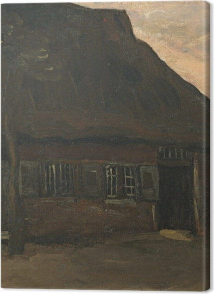 Tableaux premium Vincent van Gogh - Maison de ferme à Nuenen - Reproductions