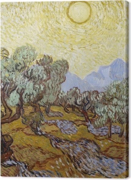 Tableaux premium Vincent van Gogh - Oliveraie - Reproductions