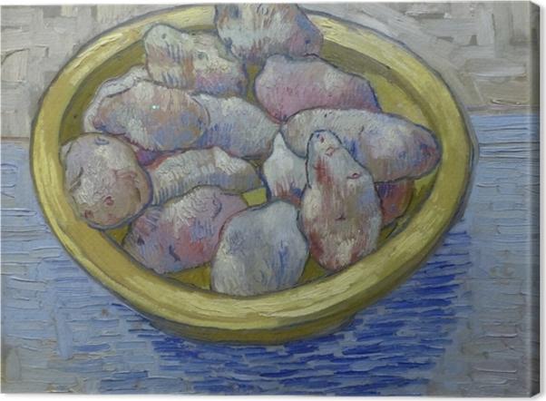 Tableaux premium Vincent van Gogh - Pommes de terre dans un plat jaune - Reproductions