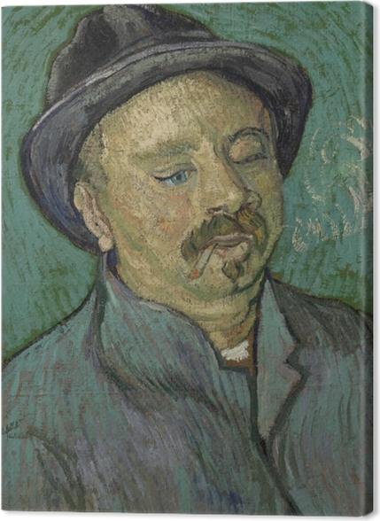 Tableaux premium Vincent van Gogh - Portrait d'un homme borgne - Reproductions
