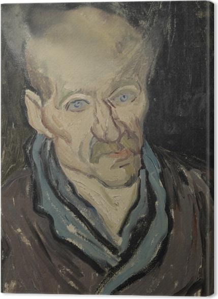 Tableaux premium Vincent van Gogh - Portrait d'un patient de l'hôpital Saint-Paul - Reproductions
