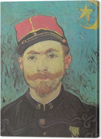 Tableaux premium Vincent van Gogh - Portrait de Paul-Eugène Milliet - Reproductions