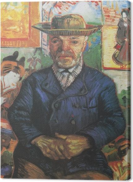 Tableaux premium Vincent van Gogh - Portrait du père Tanguy - Reproductions
