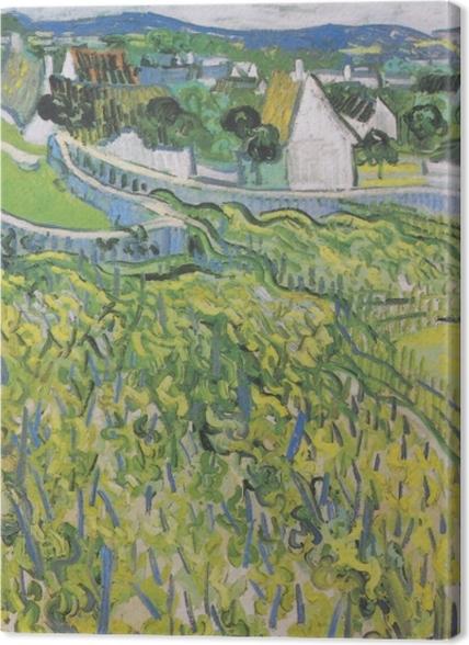 Tableaux premium Vincent van Gogh - Vignobles à Auvers - Reproductions