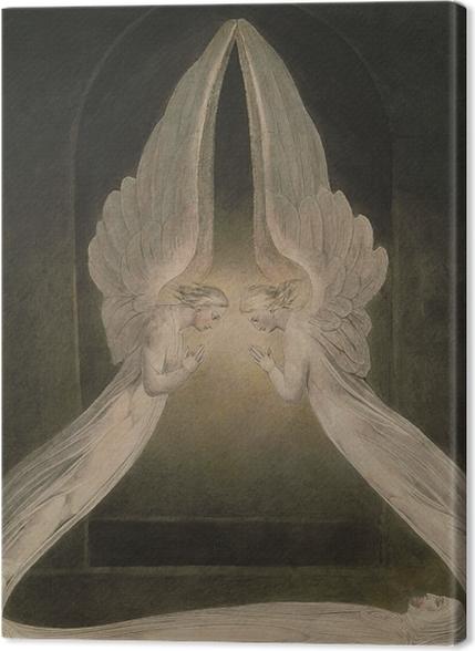 Tableaux premium William Blake - Christ dans le sépulcre - Reproductions