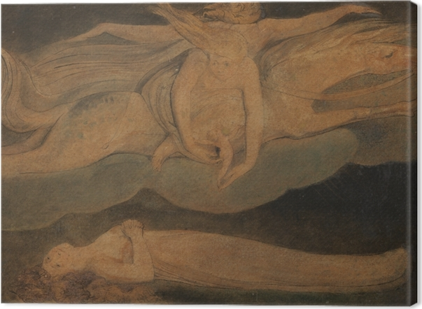 Tableaux premium William Blake - La Pitié - Reproductions