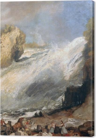 Tableaux premium William Turner - Chutes du Rhin à Schaffhouse - Reproductions