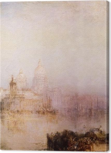 Tableaux premium William Turner - Dogana et Madonna della Salute - Reproductions