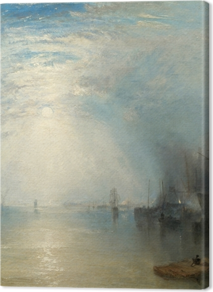 Tableaux premium William Turner - Keelmen Heaving in Coals by Moonlight - Reproductions