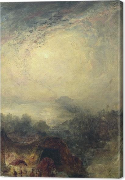 Tableaux premium William Turner - Le soir du Déluge - Reproductions
