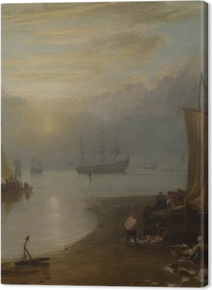 Tableaux premium William Turner - Lever de soleil dans la brume - Reproductions