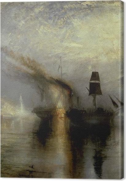 Tableaux premium William Turner - Paix - Funérailles en mer - Reproductions