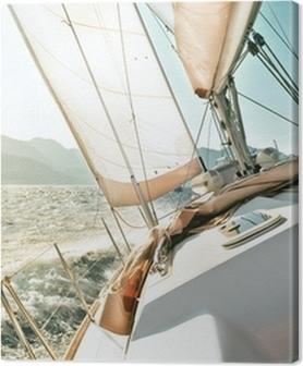 Tableaux premium Yacht à voile