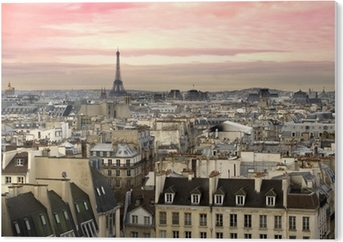 Tableau PVC Paris Tour Eiffel vue