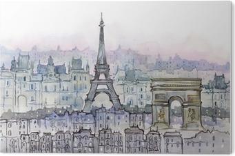 Tableau PVC Parisiens
